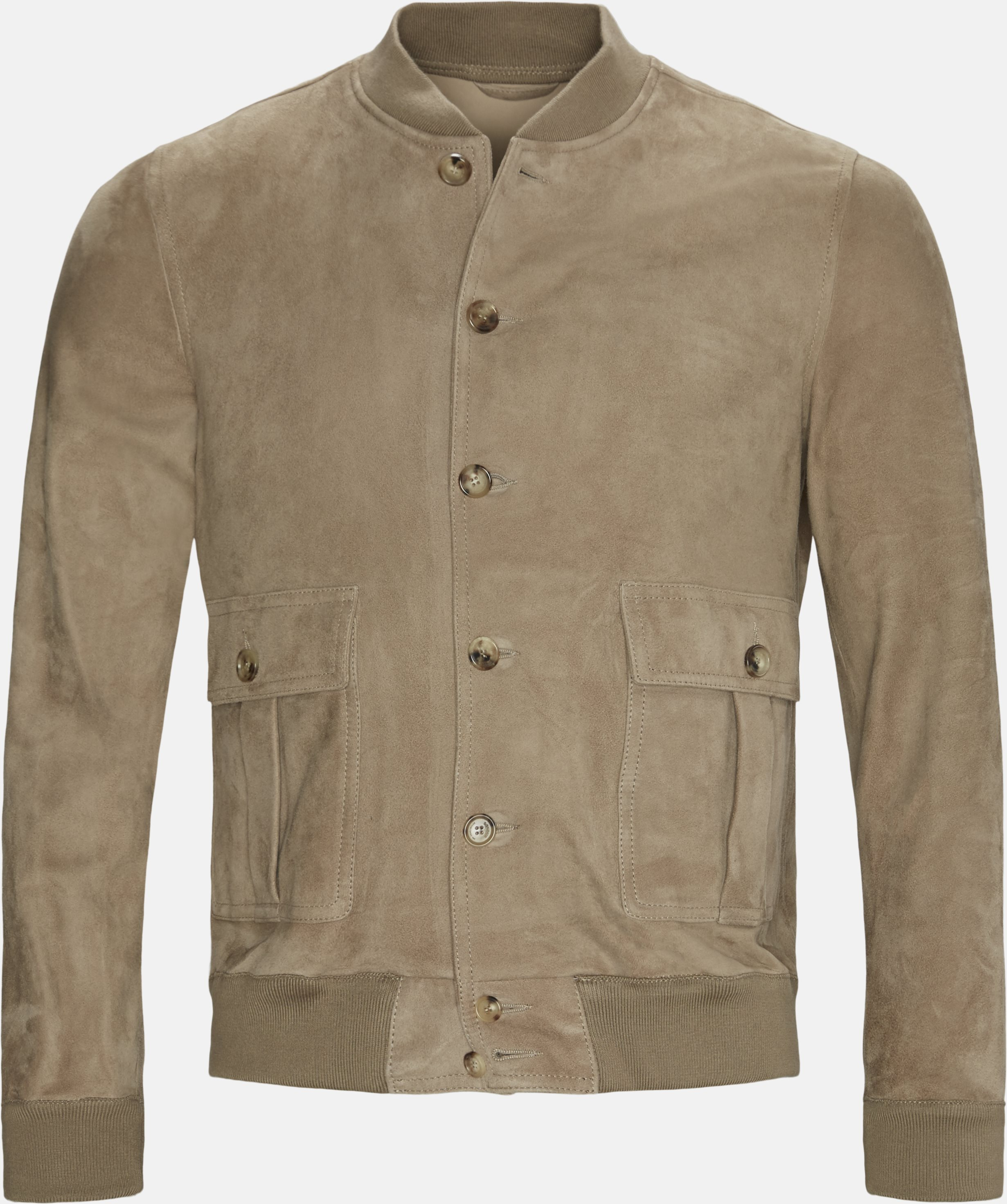 Jackets - Regular fit - Sand